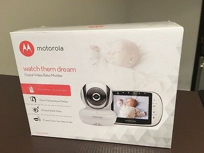 Baby monitor with video, movement and noise detector - Motorola MBP36S