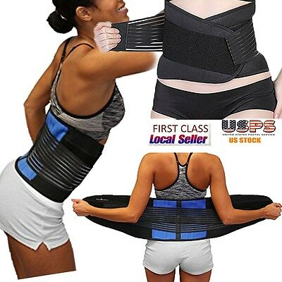 Breathable Lumbar Waist Band Medical Support Belt Relief Strap Trimming Sciatica