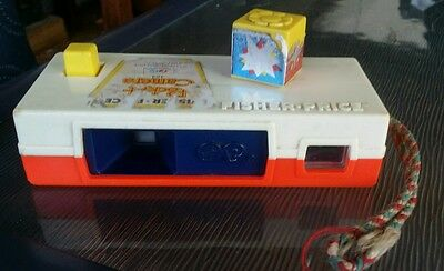 Fisher price Vintage Pocket Camera with a trip to the zoo slide shots from 1974