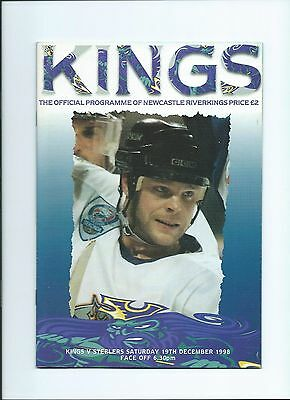 98/99 Newcastle Riverkings v Sheffield Steelers