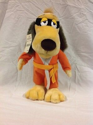 "Mighty Star Hanna Barbara 11"" Hong Kong Phooey Plush Toy 1997 Excellent"
