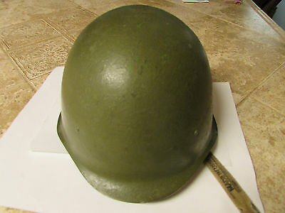 Military Steel WWII Military Helmet With Liner & chin stap, Russian 45