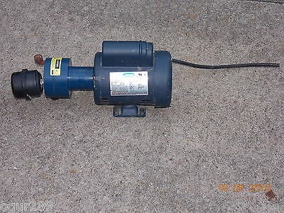 Leeson 1/4 Horsepower Electric Motor - Single Phase - 115/240V - Made in USA