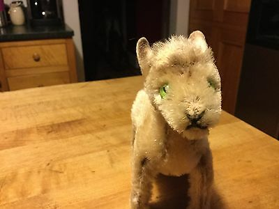 """Vintage Steiff Baby Goat 5.5"""" Excellent Condition Sweet! No Id"""