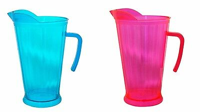 Plastic Pitcher Jug For Cocktail, Water And More - 1.8 L