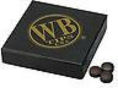 WB Water Buffalo Pool Cue Tip Original Brown Qty 50 tips