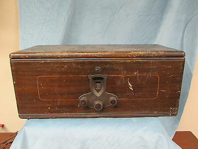 Antique American Bosch Magneto Corp Radio Model 28 For Parts Or Repair
