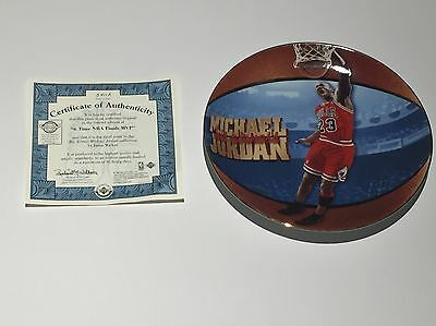 Michael Jordan Basket Ball Legend With Certificate Of Authenticity