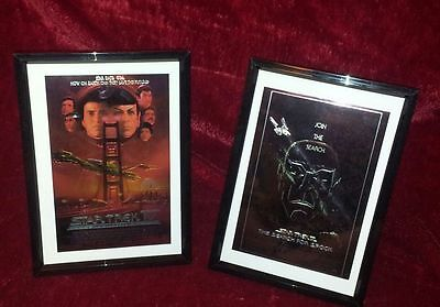New Star Trek Search For Spock / Voyage Home Chrome Art Picture Frame & Unframed