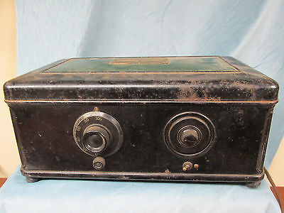 Antique Atwater Kent Model 46 Radio For Parts Or Repair