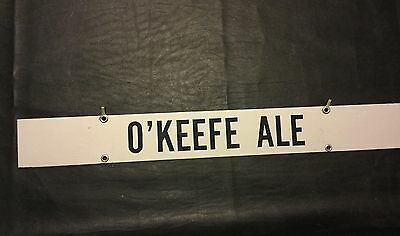 On Draft Today O'keefe Ale Beer Hanger