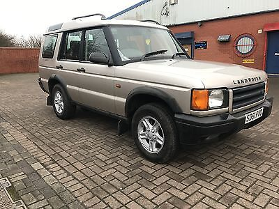 2001 51 LAND ROVER DISCOVERY TD5 GS GOLD 7 SEATER 4x4