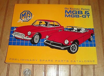 1990 The Roadster Factory Mgb & Mgb-Gt Spare Parts Catalog
