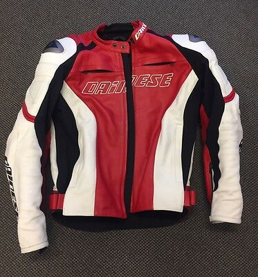 Dianese motorcycle jacket with spine protector