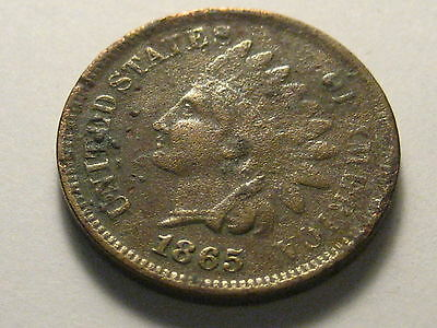 1865 Indian Head Cent Cull