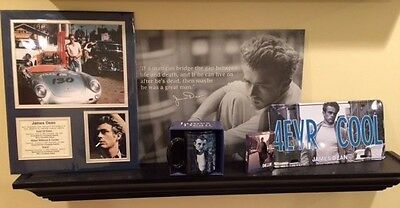 James Dean Memorabilia Coffee Mug License Plate Deck of Cards Poster Tin Picture
