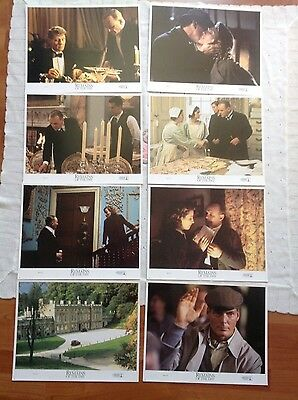 Remains of the Day - complete set of 8 lobby cards - Anthony Hopkins .