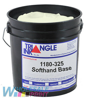 Triangle Ink 1180-325 Softhand Base screen printing plastisol 1 Quart (946ml)