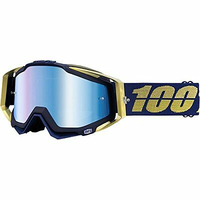100% Racecraft Graphic Goggles, Primary Color: Blue, Distinct Name: Renaiss