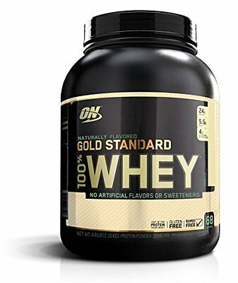 Optimum Nutrition Gold Standard 100% Whey, Naturally Flavored Vanilla, 4.8