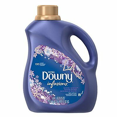 Downy Infusions Liquid Fabric Softener, Lavender, 103.0 Fluid Ounce