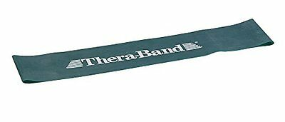 Thera-Band Heavy Loops Resistance Band, Green, 12-Inch
