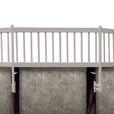 Blue Wave NE1332 Above Ground Pool Fence Kit, 3 Sections, Taupe