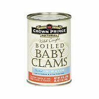 Crown Prince Baby Boiled Clams, 10 oz