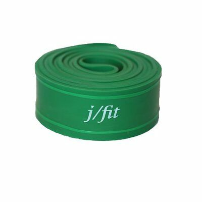 j/fit Power Lifting Exercise Band, X-Heavy, Green