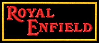 Royal Enfield ecusson brodé patche Thermocollant iron-on patch Buller Sixty-5