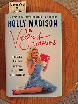 Holly Madison Autographed Book: The Vegas Diaries: