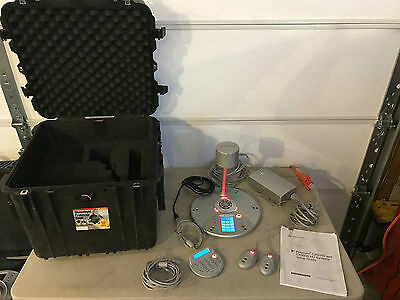 Polycom CX5000 Video Conference System Complete-Custom Waterproof Pelican Case