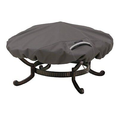 Classic Accessories 55-147-015101-EC Ravenna Round Fire Pit Cover, Small, T