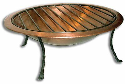Deeco Consumer Products Royale Fire Pit, Copper