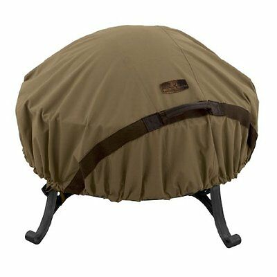 Classic Accessories 55-198-012401-EC Hickory Heavy Duty Round Fire Pit Cove