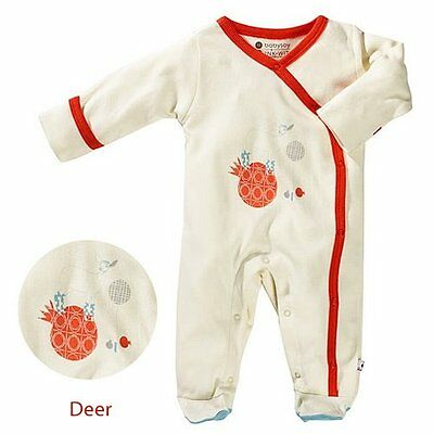 Babysoy Unisex Baby O Soy Footie - Octopus - 3-6 Months