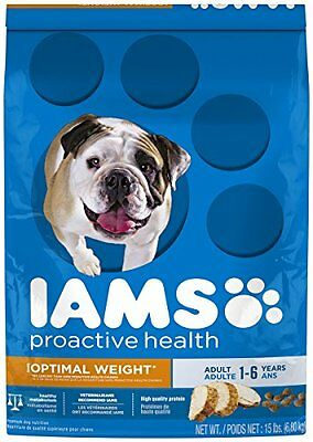 Iams ProActive Health Adult Weight Control Premium Dog Nutrition Food, 15-P