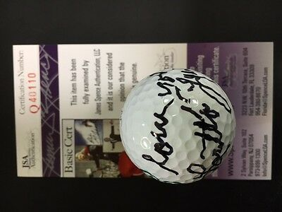 Amazing Loretta Lynn Signed One-of-a-Kind Golf Ball Music Legend Autograph JSA