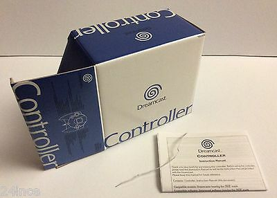 SEGA Dreamcast Controller - BOX ONLY W/INSTRUCTIONS & TWIST TIE - NO CONTROLLER!