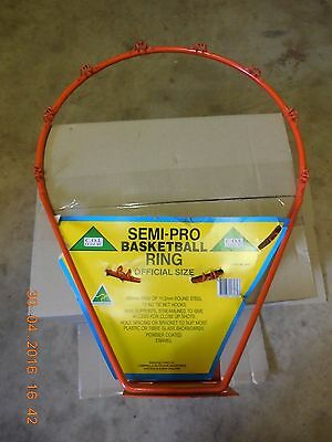 COI Leisure Semi-Pro BasketBall Ring - official size