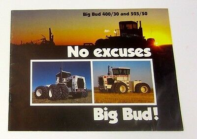 Big Bud Tractor Brochure