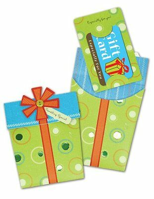 C.R. Gibson Gift Box Pocket Gift Card Mailers