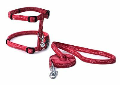 Catit Style Adjustable Harness and Leash Set, Small, Urban