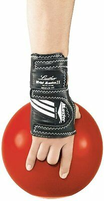 Master Industries Wrist Master II Leather Bowling Gloves, Medium, Left Hand