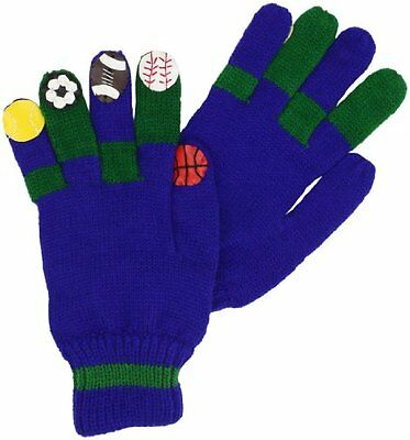 Kidorable Little Boys' Sports Gloves, Blue, Small