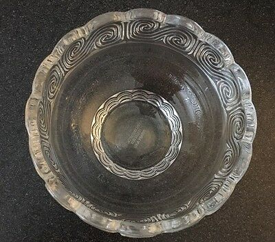 """Tiffany & Company Art Glass Louis Comfort Collection Candy Bowl Scroll 5"""""""