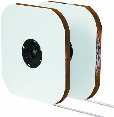 "Tape Logic HLT155 Rubber Individual Dot Tape with Loop, 3/4"" Diameter, Whit"