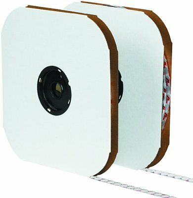 "Tape Logic HLT146 Rubber Individual Dot Tape with Hook, 1/2"" Diameter, Whit"