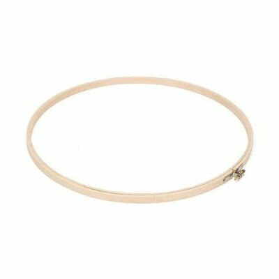 Bulk Buy: Darice DIY Crafts Wooden Embroidery Hoops Round 12 inches (6-Pack