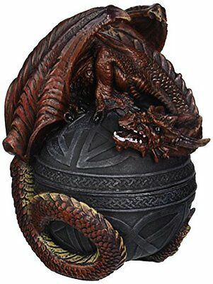 Design Toscano Dragon Protector of the Celtic Orb Sculptural